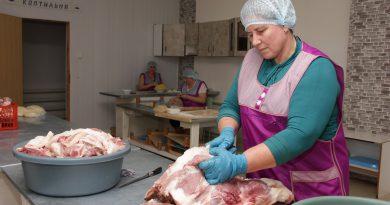 За неполный третий квартал мясоперерабатывающий цех реализовал более 7 тонн продукции
