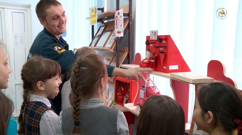 50 работ о противопожарной безопасности представили голышмановские школьники