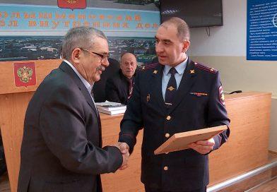Ветеранская организация полиции признана лучшей в Тюменской области